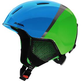 Alpina Carat LX Kask Dzieci zielony/niebieski
